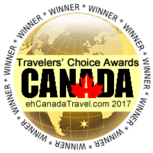 Kiwi Cove Lodge winner of the Travelers Choice Award