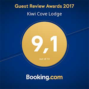 A booking.com review of the Kiwi Cove Lodge in Ladysmith, BC